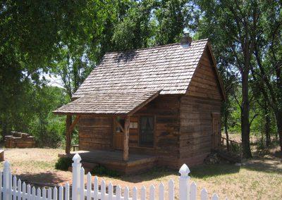 Margaret McCleve Hancock Log Cabin