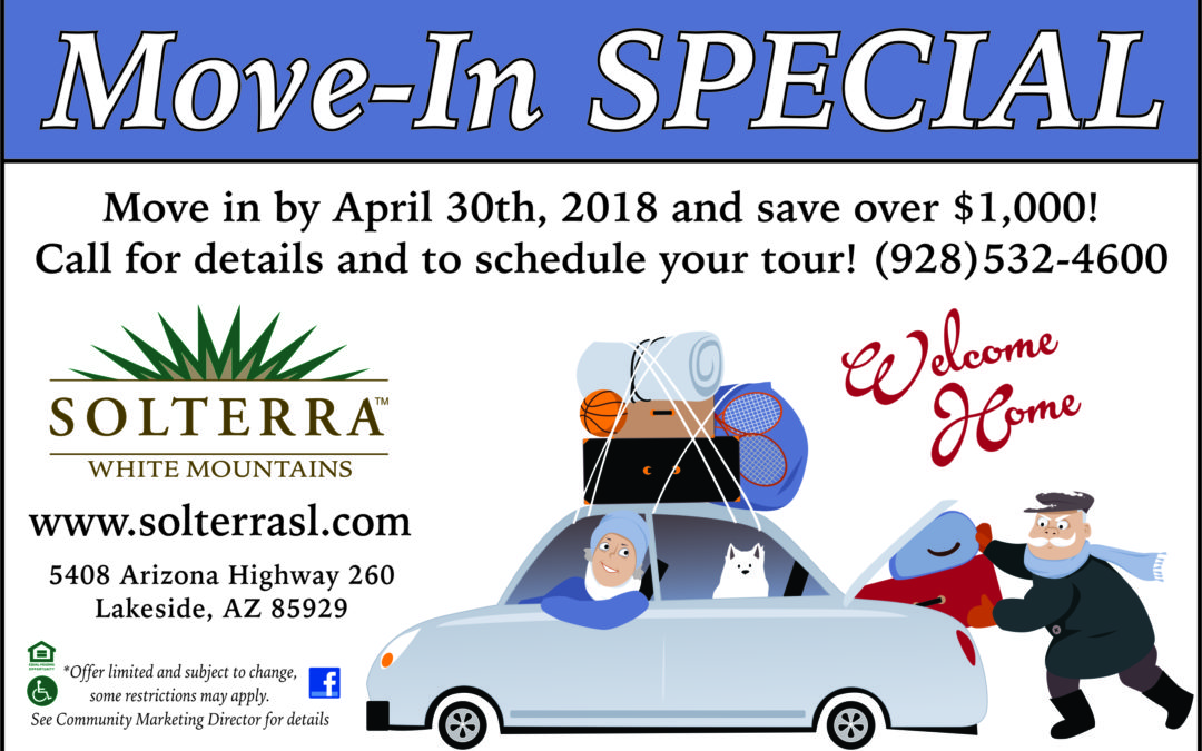 Solterra March Move In Special