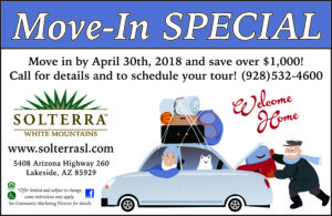 Solterra March Move In Special @ Solterra White Mountains