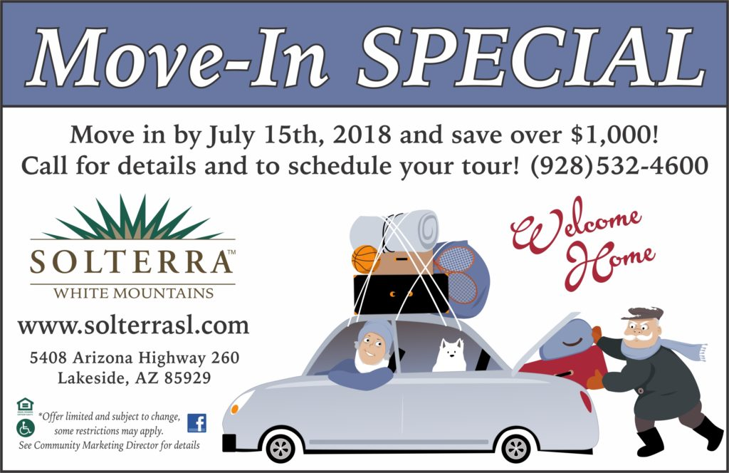 Solterra Move-in Special flyer