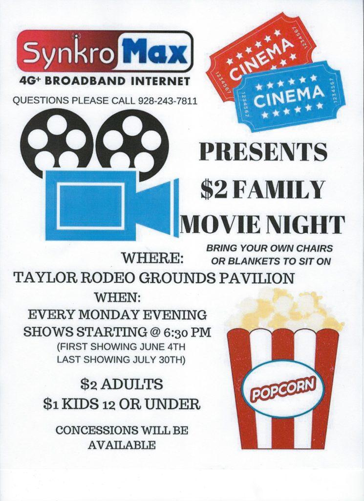 SynkroMax Movie Night flyer