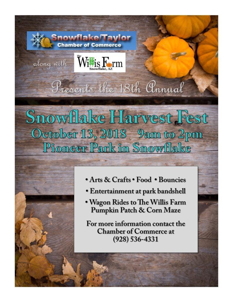 Snowflake Harvest Fest