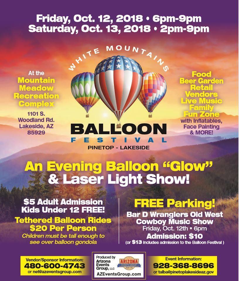 White Mountains Balloon Festival