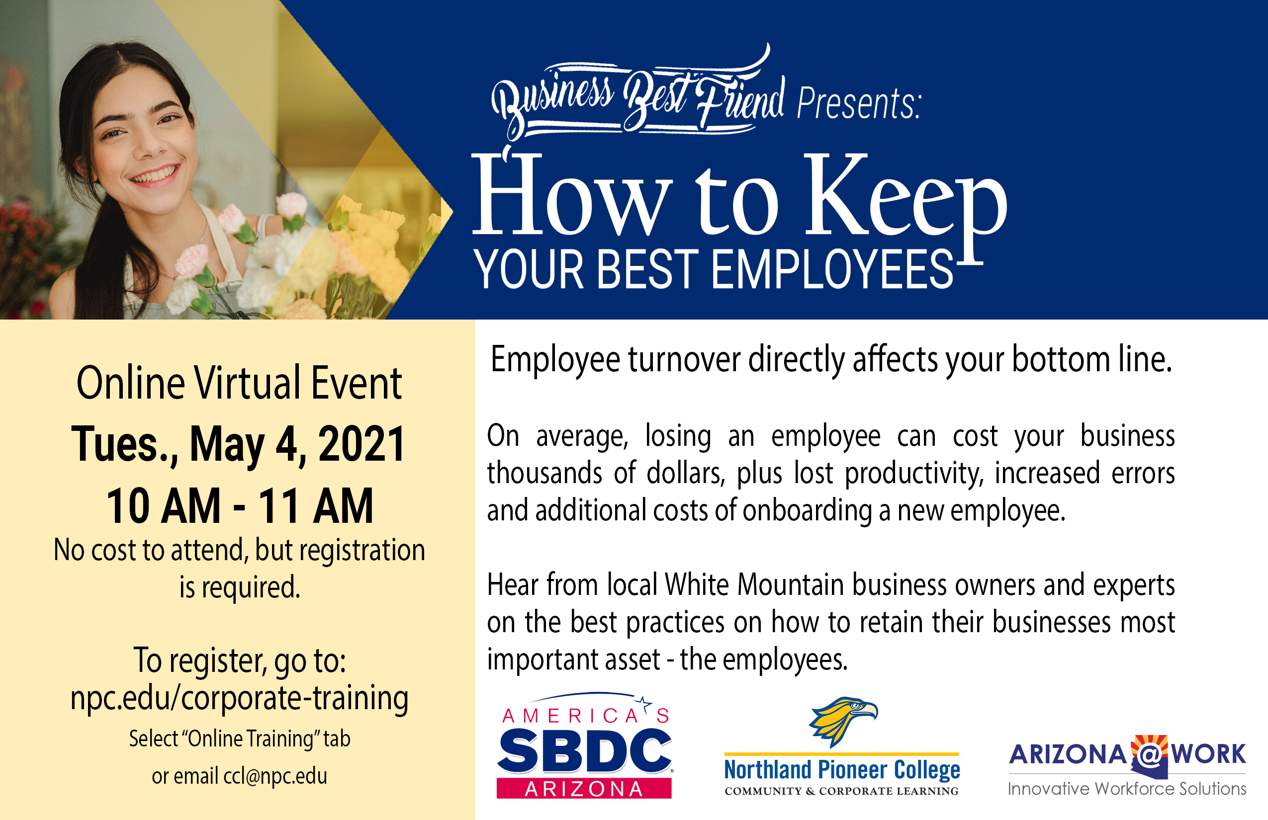 How to Keep Your Best Employees @ Online Virtual Event