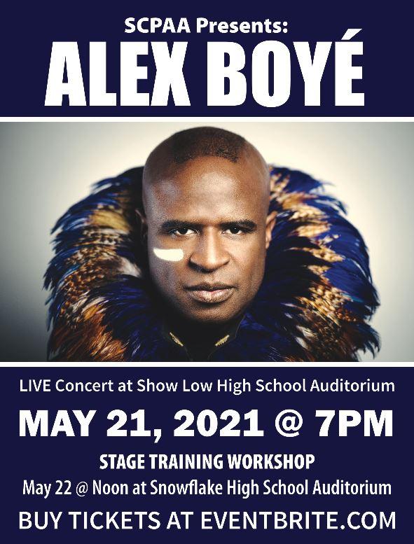 Alex Boye Live Concert @ Show Low High School Auditorium | Show Low | Arizona | United States
