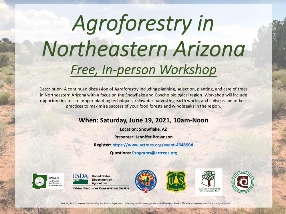 Agroforestry in Northeastern Arizona