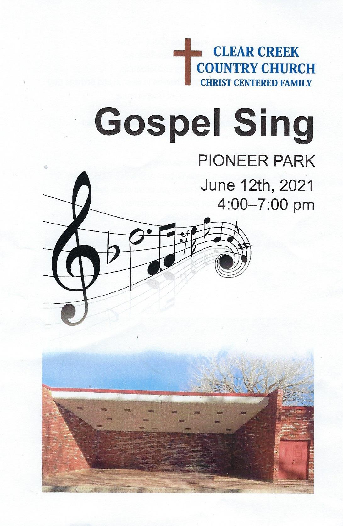 Gospel Sing @ Pioneer Park | Snowflake | Arizona | United States