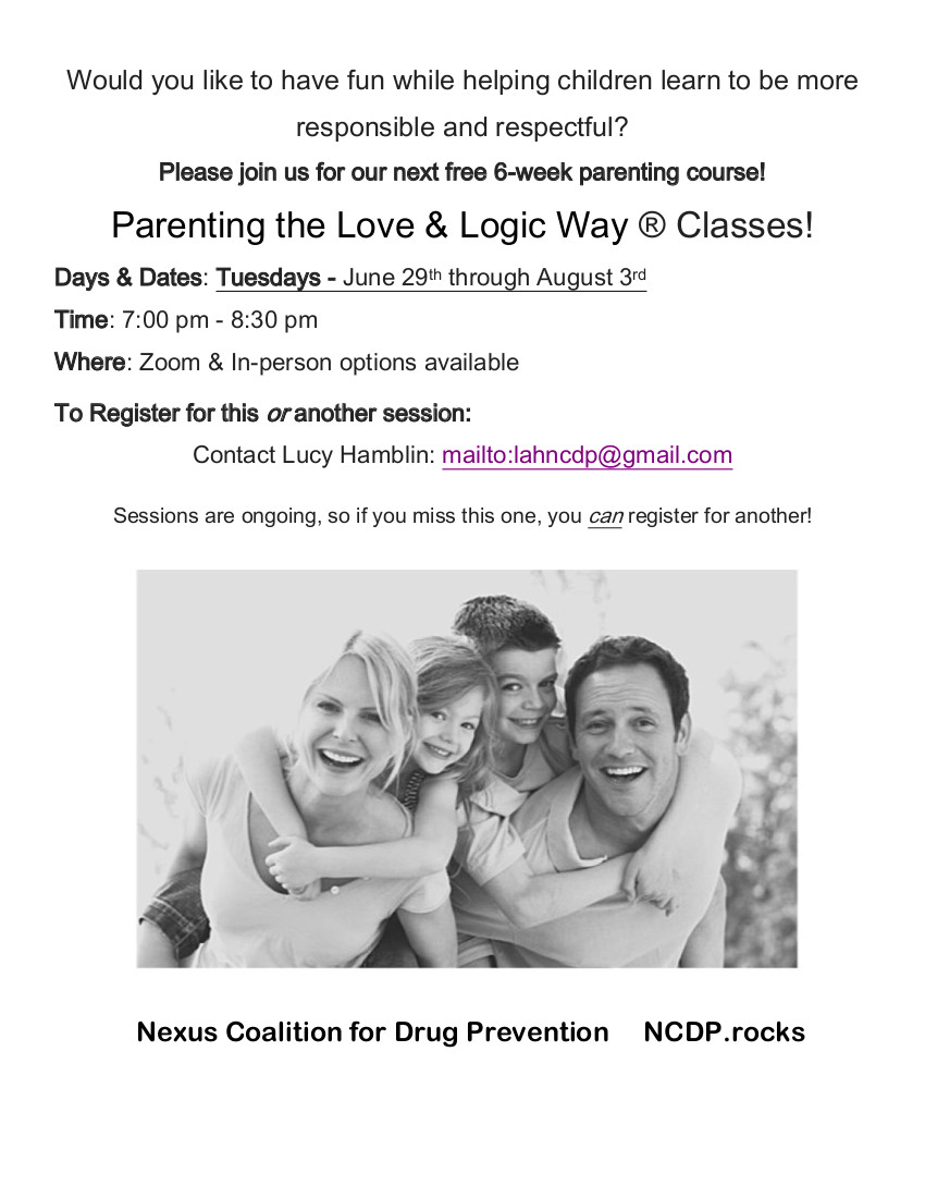 Parenting the Love & Logic Way Classes